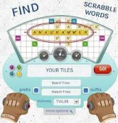 scrabble word finder solver dictionary cheats